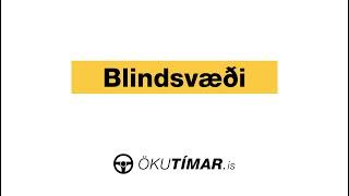 Blindsvæði - Blind spots (Eng sub)