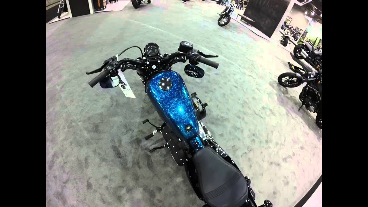 2016 Sportster XL1200X Forty-Eight Hard Candy Cancun Blue ...