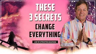 ✅These 3 Secrets Change Everything & Help You Manifest Whatever You Want