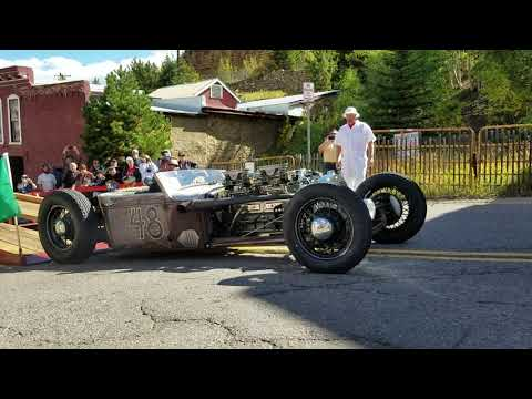 Supercharged Packard Straight-8 Engine Sound Video