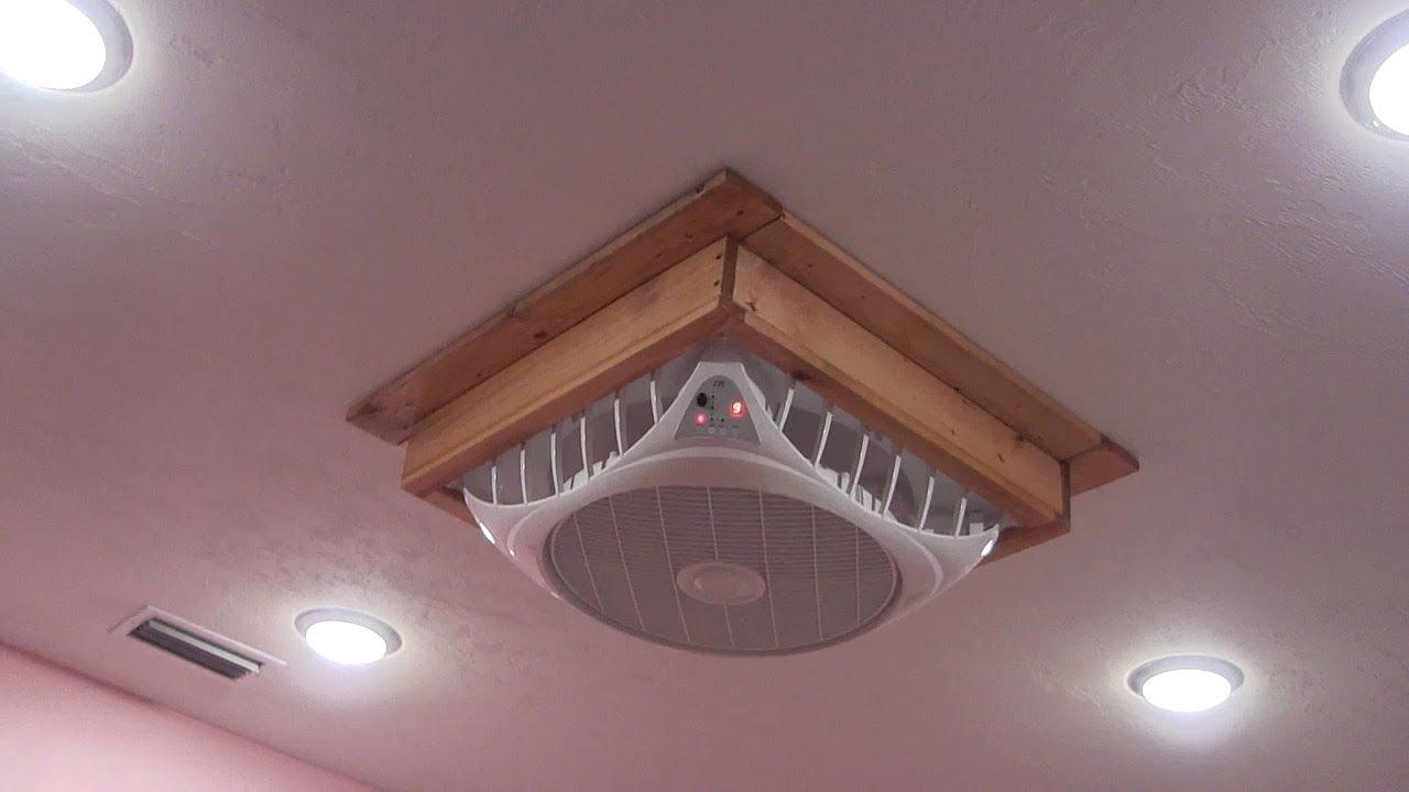 drop ceiling fan option