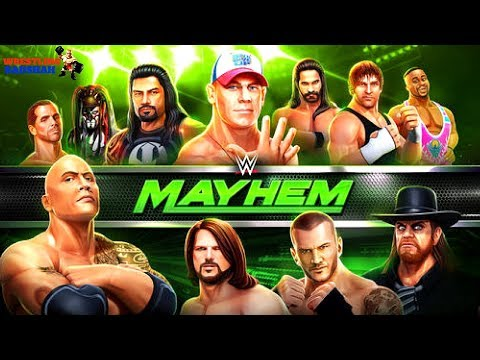 WWE Mayhem Gameplay  [Android / iOS]  ||New WWE Game with 3D