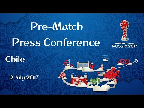 CHI v. GER - FINAL - Chile - Pre-Match Press Conference