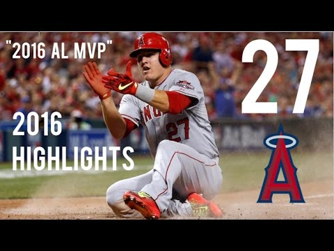 Mike Trout | 2016 MVP Highlights
