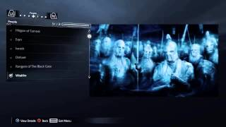 Shadow of Mordor® ALL Appendices Complete (PS4™)