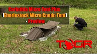 So Expensive! - Carinthia Micro Tent Plus (Eberlestock Micro Condo Tent) - Preview