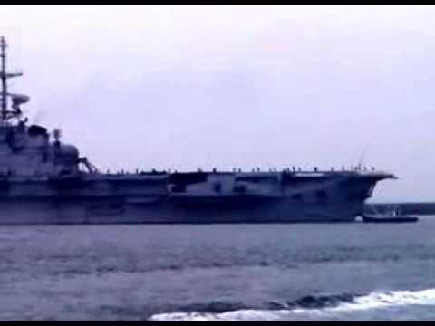 Départ du porte-avions São Paulo de Brest