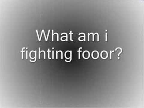 Yellowcard - Fighting (lyrics)