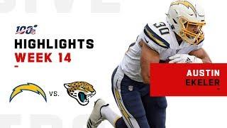Austin Ekeler POPS OFF for 213 Total Yds & 1 TD | NFL 2019 Highlights