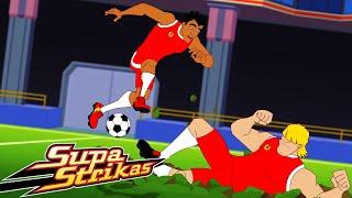 Season 4 COMPILATION E 3 6 SupaStrikas Soccer kids cartoons Super Cool Football Animation
