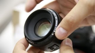 Canon EF 50mm f/1.8 lens review with samples (Full-frame and APS-C)