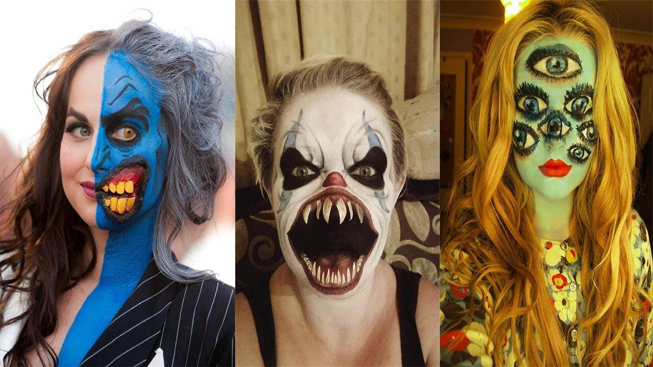 40 Scary Halloween Makeup 2019 - Latest Crazy Halloween Makeup Ideas