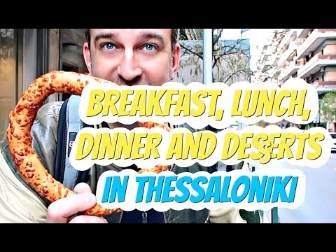 Thessaloniki Food Tour  | Breakfast, Lunch, Dinner & Desserts