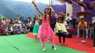 Girls dance in school function