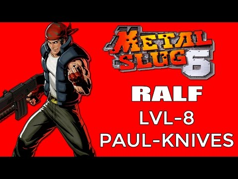 Metal Slug 6 - ( RALF ) -