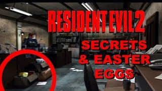 Top 10 Resident Evil 2 Secrets and Easter Eggs