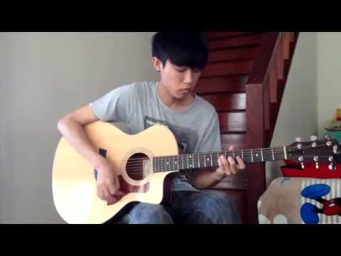 (Lomosonic) ขอ - Fingerstyle Guitar Cover  by Palm