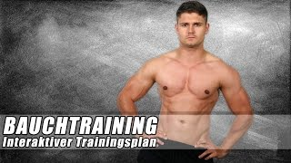 Bauchtraining - Sixpack Training zuhause