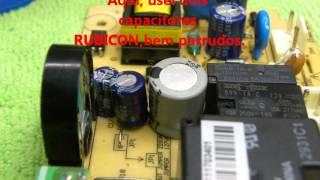 Electrolux DF80 apitando e desprogramando.