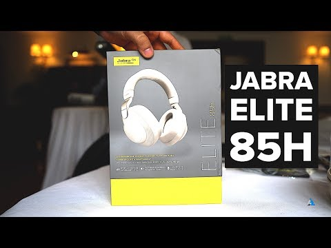 [HINDI] Jabra Elite 85H REVIEW and UNBOXING: Best ANC headphones?
