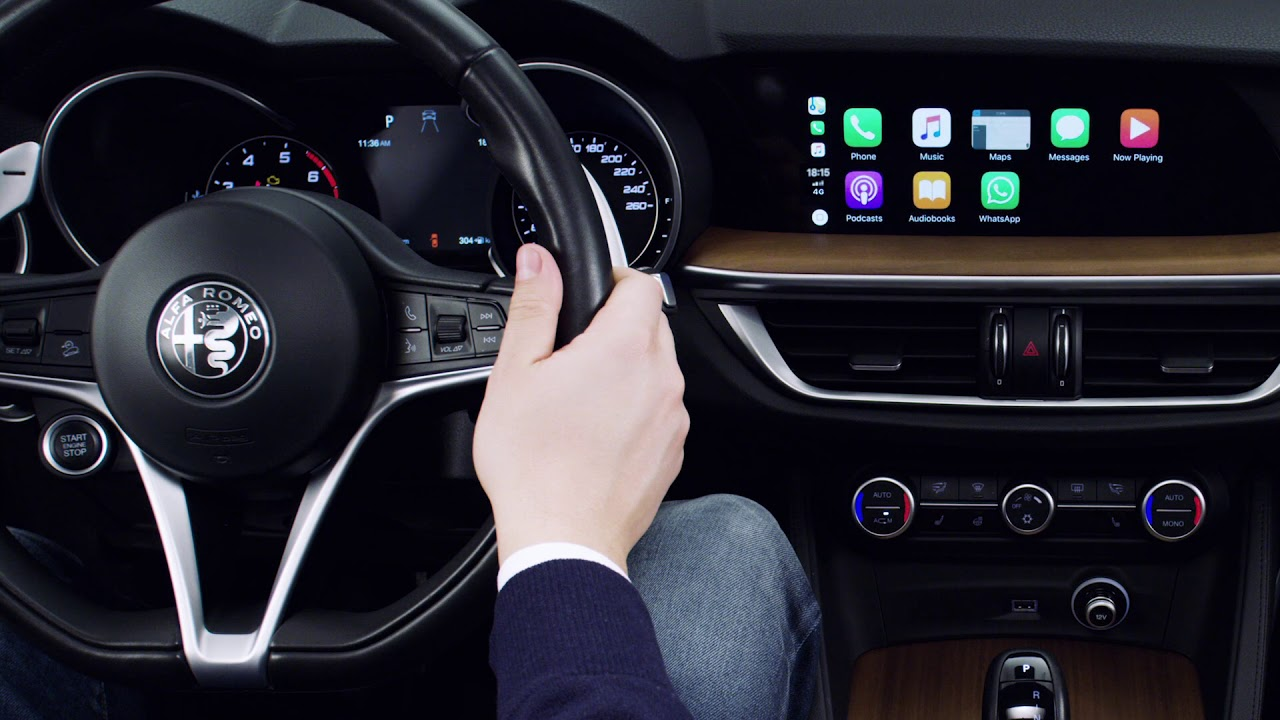 Alfa Romeo Stelvio Apple Carplay >> Alfa Connect How To Use Apple Carplay Youtube