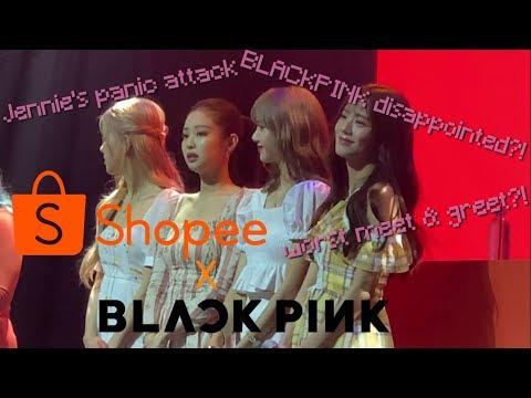 [VLOG] BLACKPINK JENNIE FEELING SICK at the SHOPEE x BLACKPINK MEET & GREET in Manila
