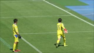 【FC東京U-14】 2017東京国際ユース(U-14)サッカー大会 準決勝 ゴールキーパーの試合前練習