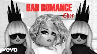 Lady Gaga - Bad Romance (UNCANNY VALLEY) (ROBLOX MUSIC VIDEO)