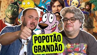Baixar CORAGEM, O CÃO COVARDE CANTANDO POPOTÃO GRANDÃO!