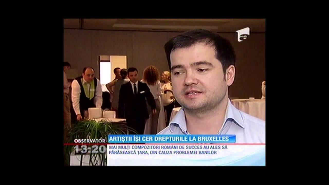 Uniti pentru drepturile artistilor // Observator @ Antena 1 // 7 iunie 2013