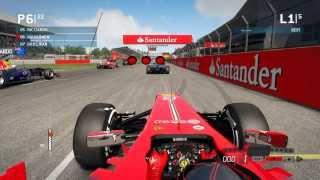 F1 2013™  - Kimi Raikönnen   Ferrari   Race Silverstone   PC Gameplay