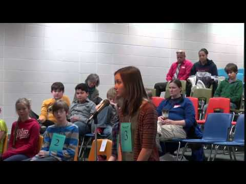 2015 CESA #9 Region 2 Spelling Bee at Northland Pines Middle School