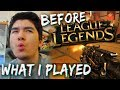 WHAT I PLAYED BEFORE I FOUND LEAGUE OF LEGENDS ! Trying out the mantis killstreak !
