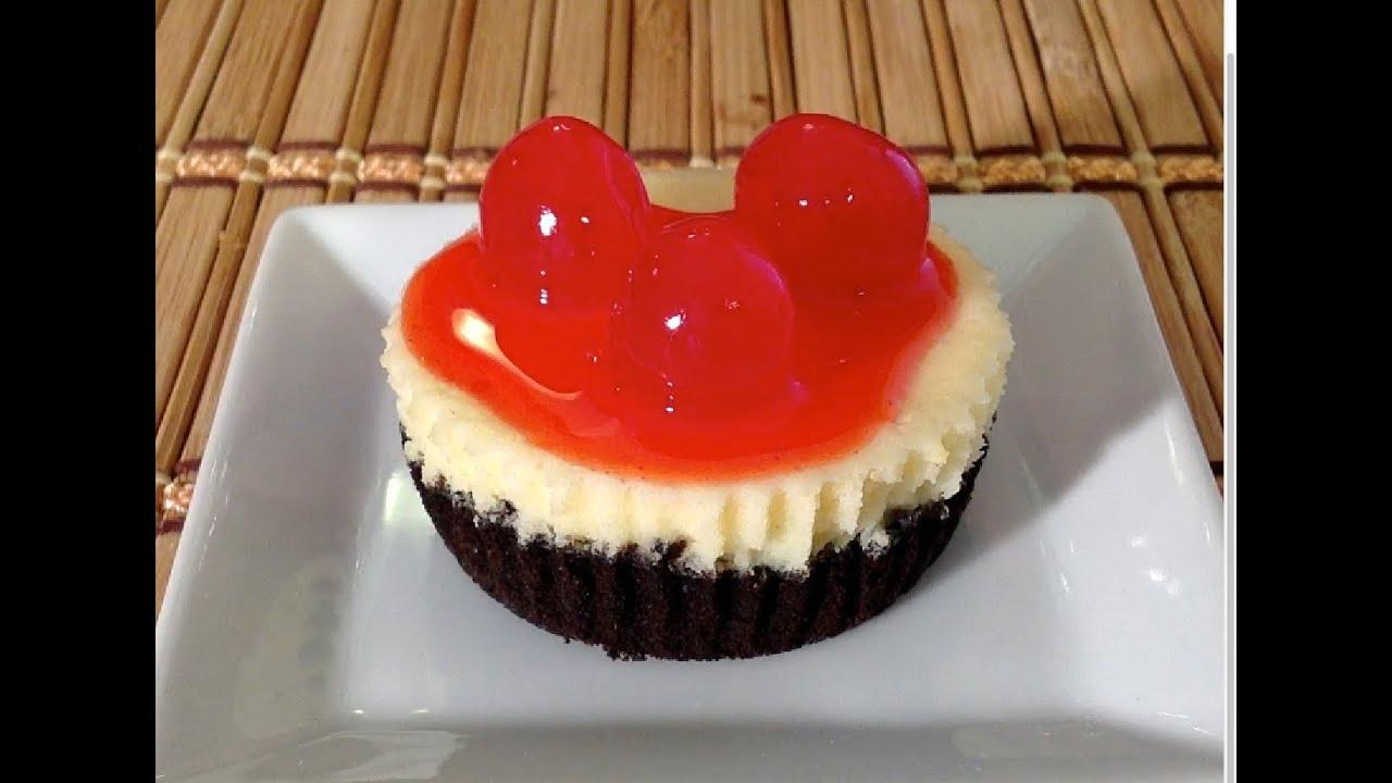 Oreo Cherry Cheesecake Cupcakes Oreo Crust How To Make