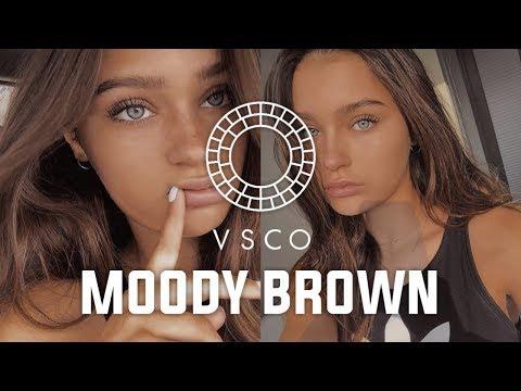 Vsco Tutorial Filter Moody Brown For Soft Light | Moody Feeds Instagram