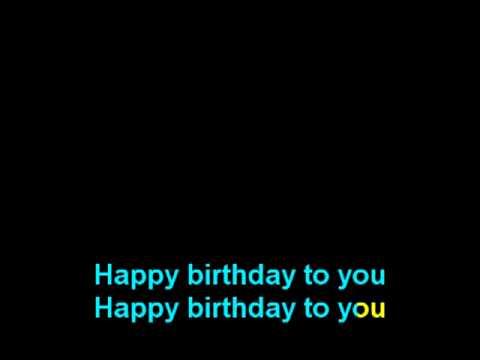 Happy Birthday Panjang Umurnya Karaoke Video Lagu Ulang Tahun