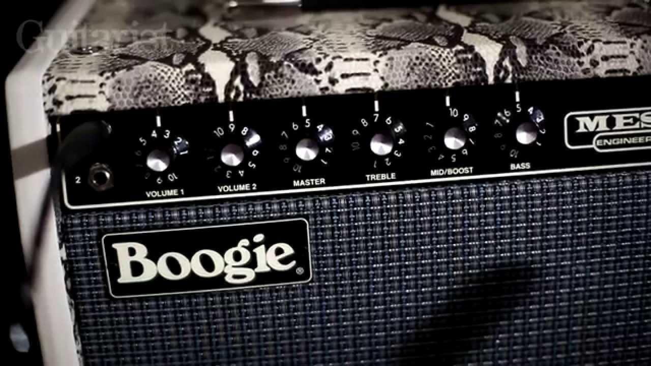 Mesa Boogie King Snake 1x12 Guitar Combo Demo