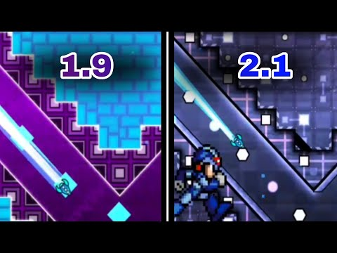1.9 & 2.1 | Geometry Dash 2.11 & 1.9 : Megaman Adventures + Megaman Return (Nostalgia + Today)