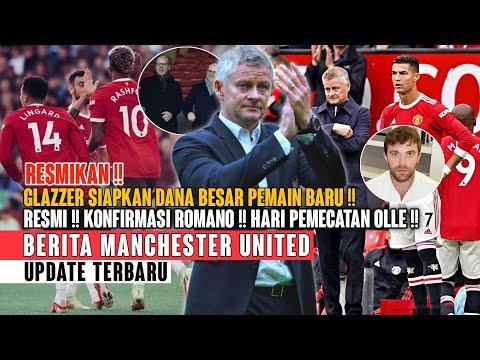 RESMI❗ Konfirmasi Romano ✅ Hari Pemecatan Olle 💯 Bukti Cintanya Ronaldo Pada MU 😍 Berita MU 🔴 thumbnail