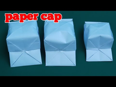How to make paper cap ,paper hat,paper art and crafts ideas