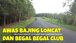 Hutan Karet Rawan Begal Begal Club, Road Trip Jakarta Padang Granmax Campervan