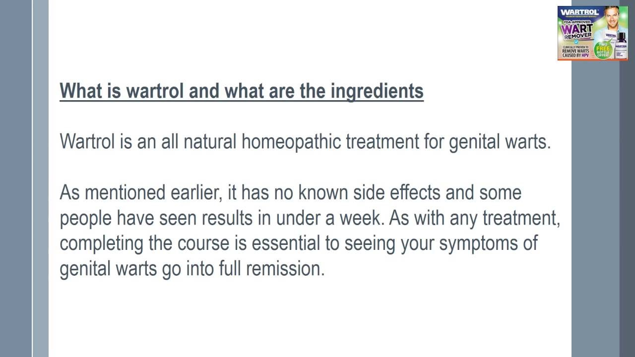 Getting Relief From Genital Warts Wartrol Wart Remover Review