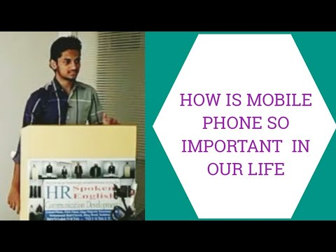 A Super And Informative Speech (seminar) On Mobile Phone