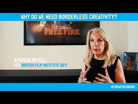 #CreativeUnions Amanda Nevill - British Film Institute