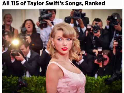 All 115 of Taylor Swift's Songs, Ranked
