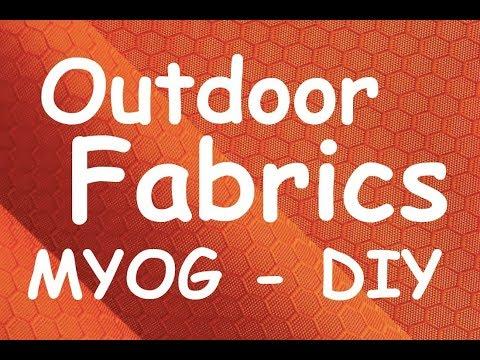 Fabrics for ultralight myog and DIY projects