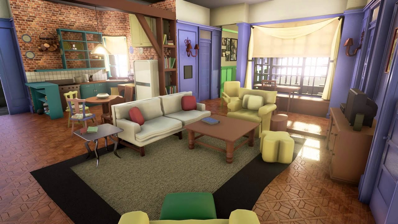 Monicas apartment from friends in ue4 work in progress youtube monicas apartment from friends in ue4 work in progress malvernweather Image collections