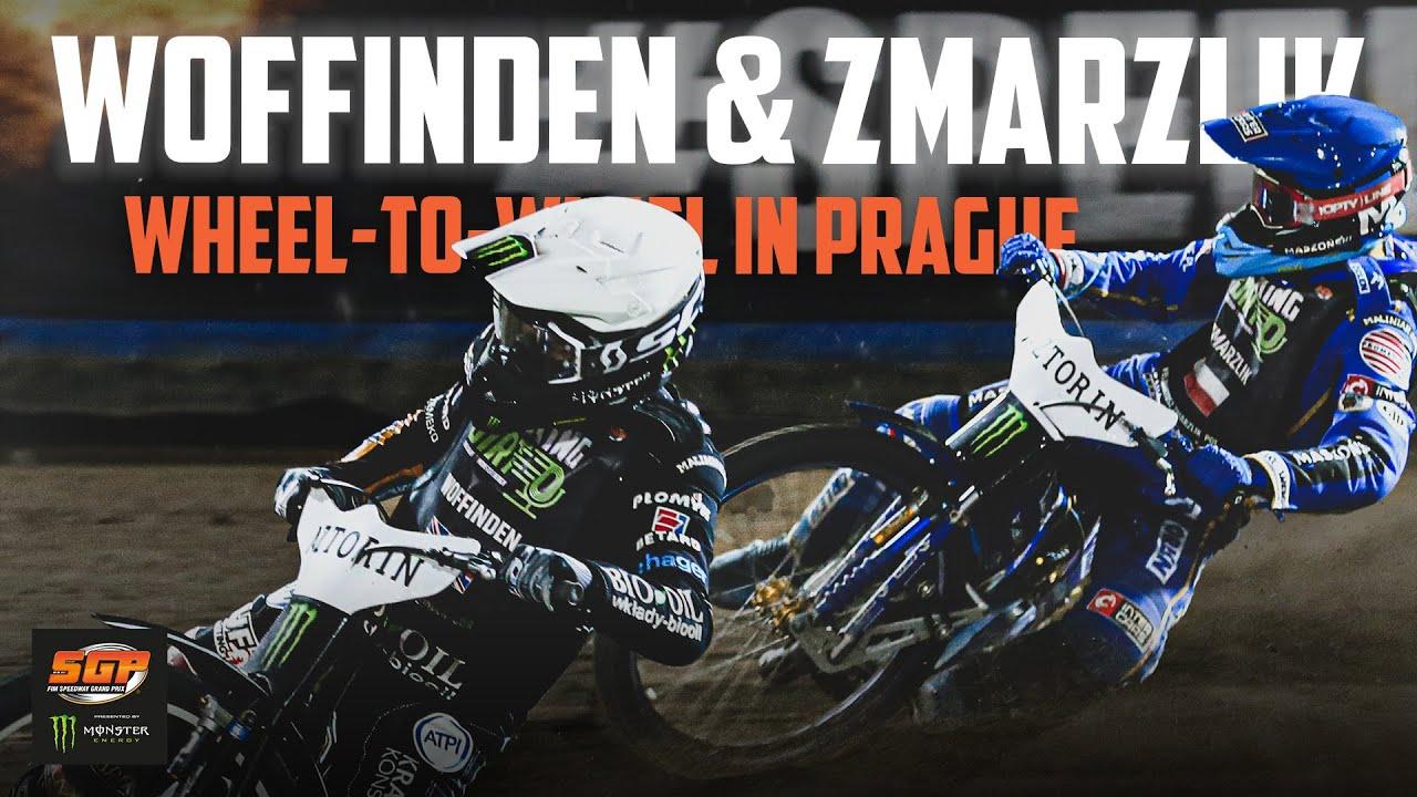 Woffinden & Zmarzlik go wheel-to-wheel in Prague! | FIM Speedway Grand Prix