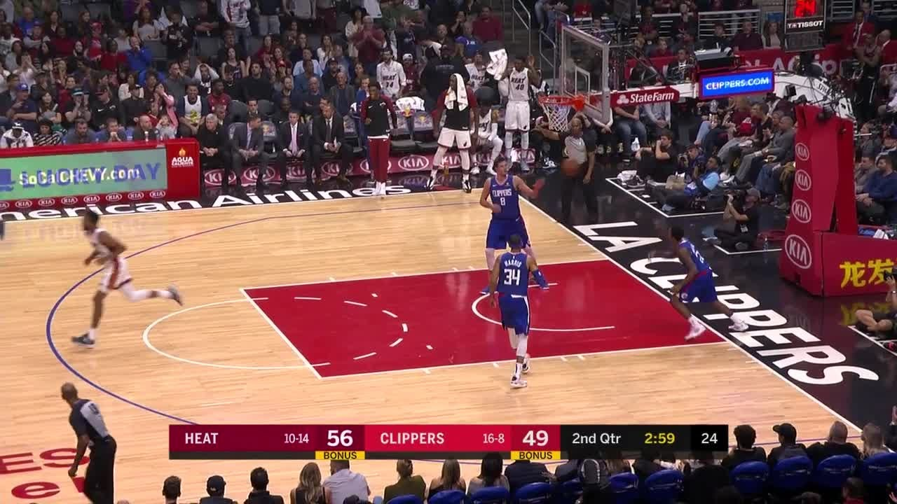 2nd-quarter-one-box-video-los-angeles-clippers-vs-miami-heat