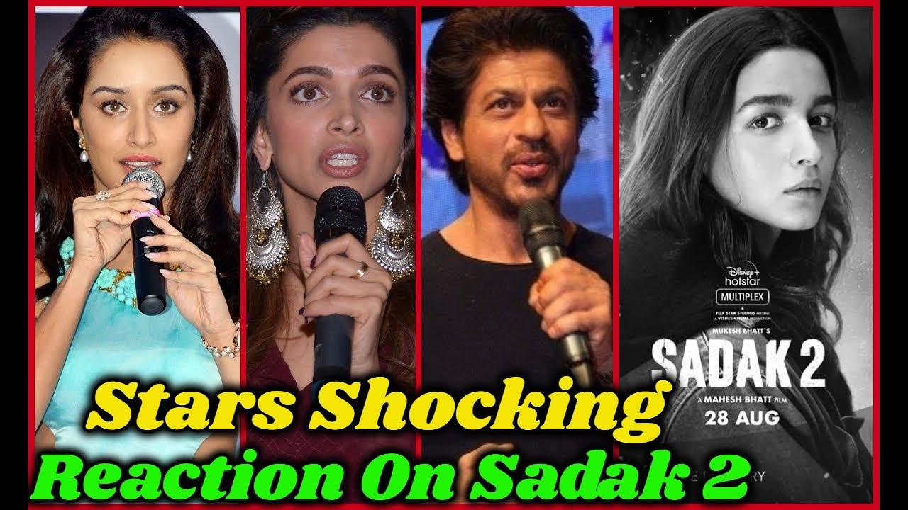 Bollywood Stars Reaction on Sadak 2